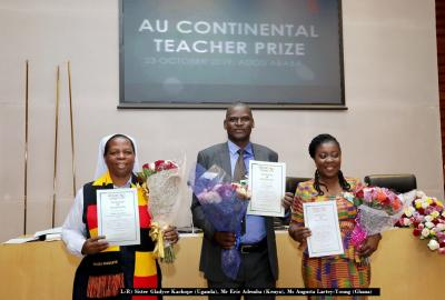 Augusta Lartey-Young: IEPA Student Named Among Top Three Teachers In Africa